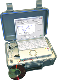 Lightweight Field Machine - Multichannel Potentiostat designed for use in the field.