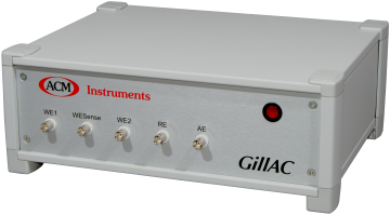 Gill AC - Potentiostat, Galvanostat, ZRA and FRA